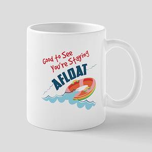 Staying Afloat Mugs
