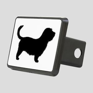 Glen of Imaal Terrier Rectangular Hitch Cover