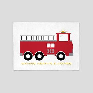 Saving Homes 5'x7'Area Rug