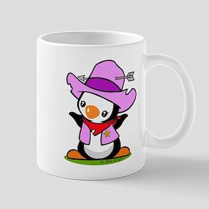 Cowboy Penguin Mug
