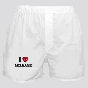 I Love Mileage Boxer Shorts