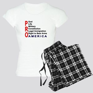 Pro America Women's Light Pajamas