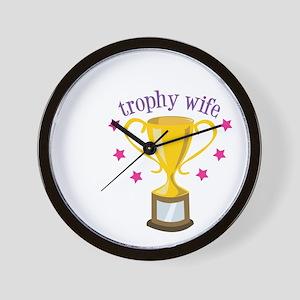 Trophy Wife Wall Clock