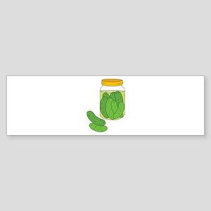 Pickle Jar Bumper Sticker