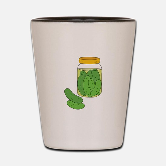 Pickle Jar Shot Glass