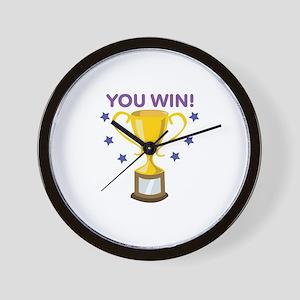 You Win Wall Clock