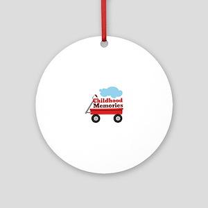 Childhood Memories Ornament (Round)