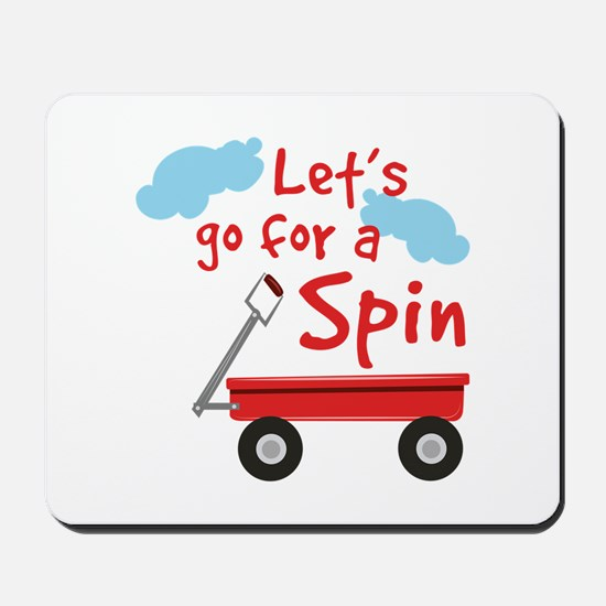 Go For Spin Mousepad