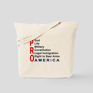 Pro America Tote Bag