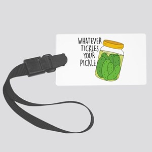 Tickles Your Pickle Luggage Tag