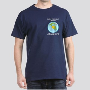Earth's Dial Pocket Image Dark T-Shirt