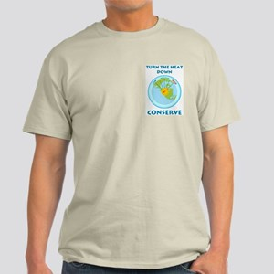 Earth's Dial Pocket Image Light T-Shirt