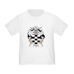 Pavia Family Crest T