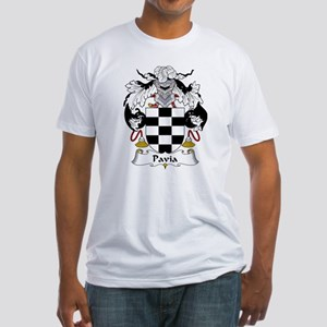 Pavia Family Crest Fitted T-Shirt
