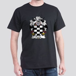 Pavia Family Crest Dark T-Shirt
