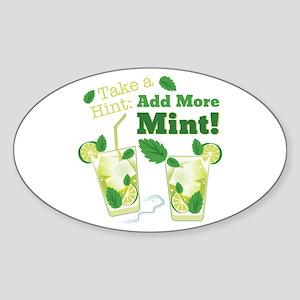 Add More Mint! Sticker