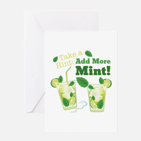 Add More Mint! Greeting Cards