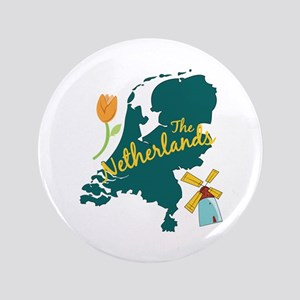 The Netherlands Button