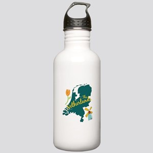 The Netherlands Water Bottle