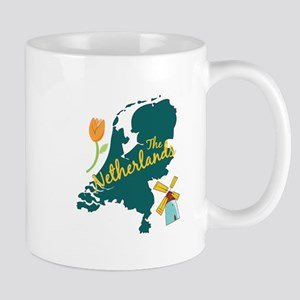 The Netherlands Mugs