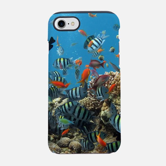 Exotic Fishes and Underwater iPhone 8/7 Tough Case