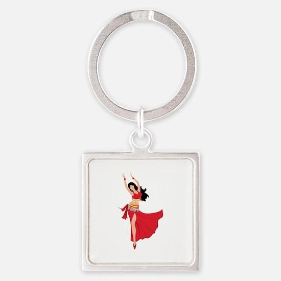 Belly Dancer Keychains
