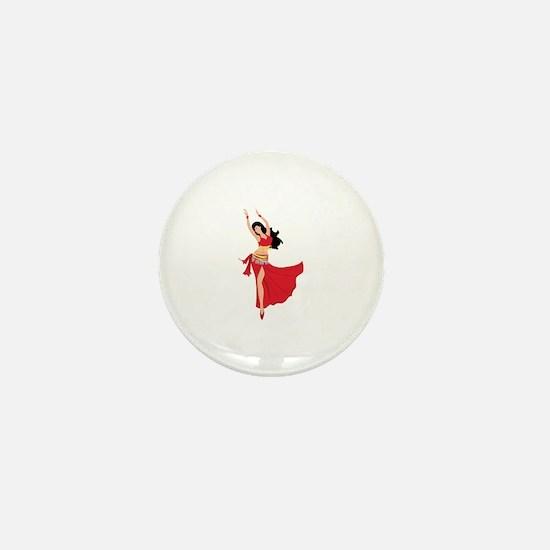 Belly Dancer Mini Button