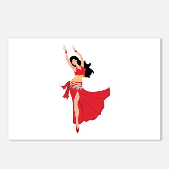 Belly Dancer Postcards (Package of 8)