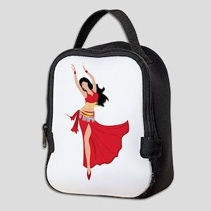 Belly Dancer Neoprene Lunch Bag