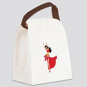 Belly Dancer Canvas Lunch Bag