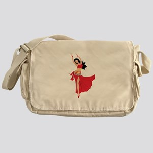 Belly Dancer Messenger Bag