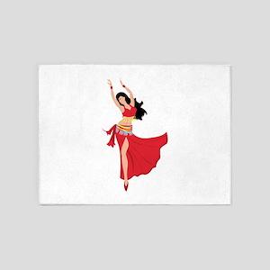 Belly Dancer 5'x7'Area Rug