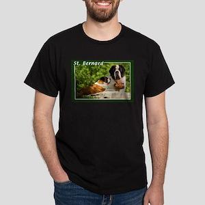 St Bernard-1 Dark T-Shirt