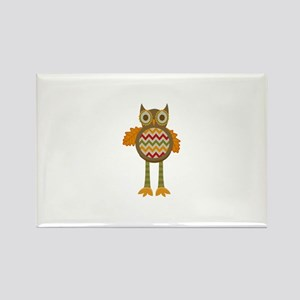 WHIMSICAL FALL OWL Magnets