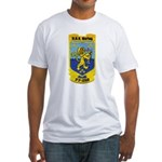 USS BARBEY Fitted T-Shirt