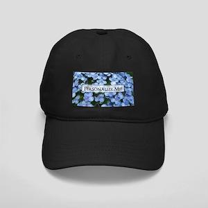 00aa053c4ad Customizable Blue Hydrangea Flowers Black Cap