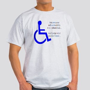 Disability Message Light T-Shirt