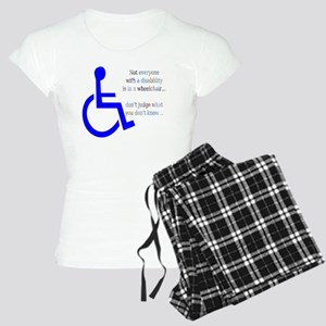 Disability Message Women's Light Pajamas