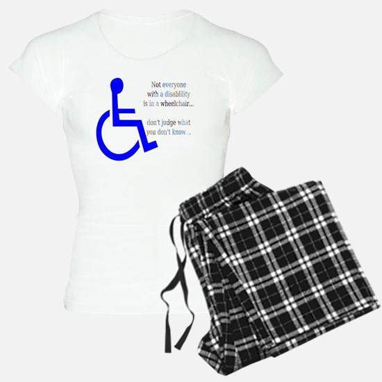 Disability Message Pajamas
