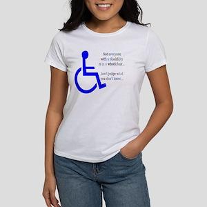 Disability Message Women's T-Shirt