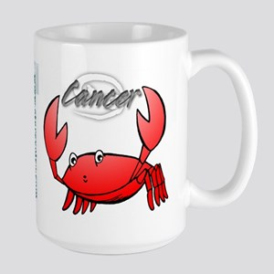 Cartoon Cancer Large Mug