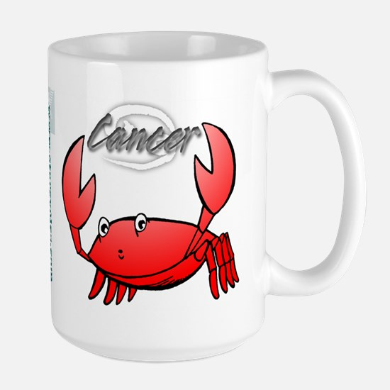 Cartoon Cancer Large Mug