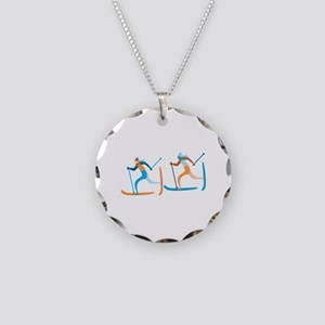 Snow Ski Necklace