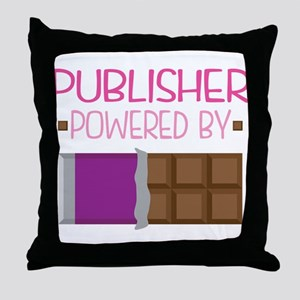 Publisher Throw Pillow