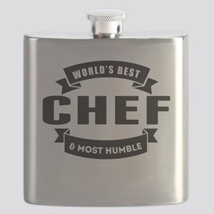 Worlds Best And Most Humble Chef Flask
