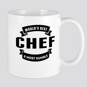 Worlds Best And Most Humble Chef Mugs