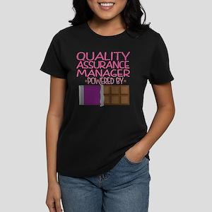 Quality Assurance Manager Women's Dark T-Shirt