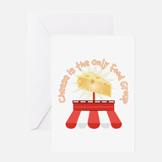 Only Food Group Greeting Cards