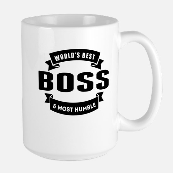 Worlds Best And Most Humble Boss Mugs