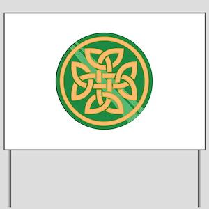 Celtic Knot Yard Sign
